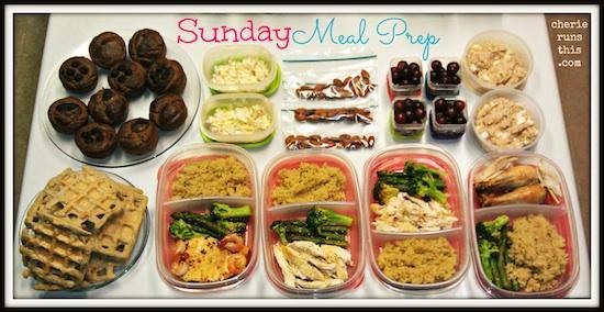 Sunday mealprep _ Cherie Runs This 2_17_13_number1