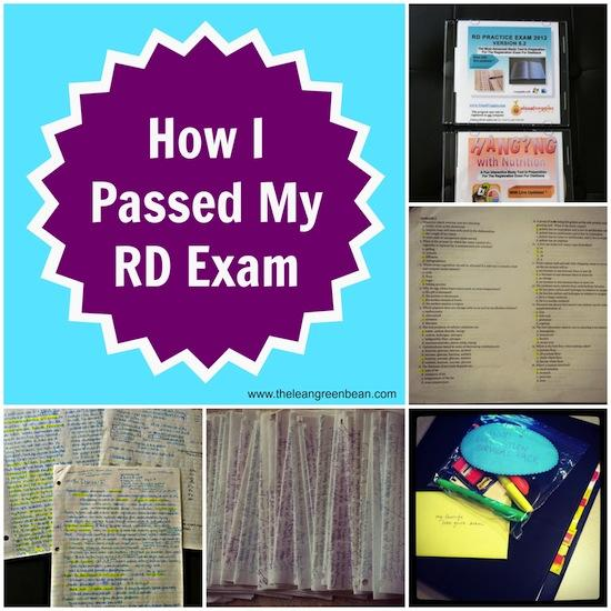 Are you a dietetics student, dietetic intern or thinking about getting a degree in nutrition and dietetics? See how I passed my RD exam and became a Registered Dietitian!