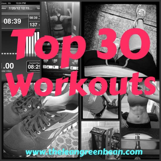 Top 30 workouts