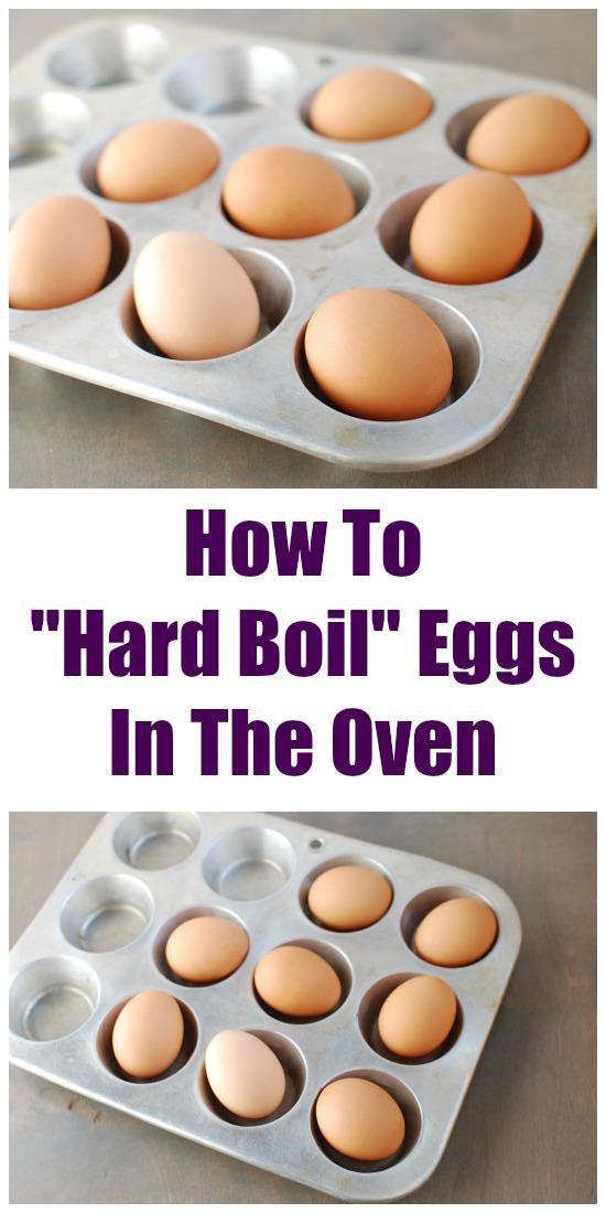How To Hard Boil Eggs In The Oven Healthy Eating Tips