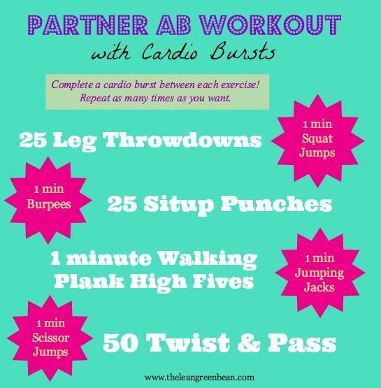 partner ab workout