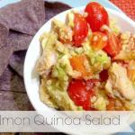 Salmon Quinoa Salad