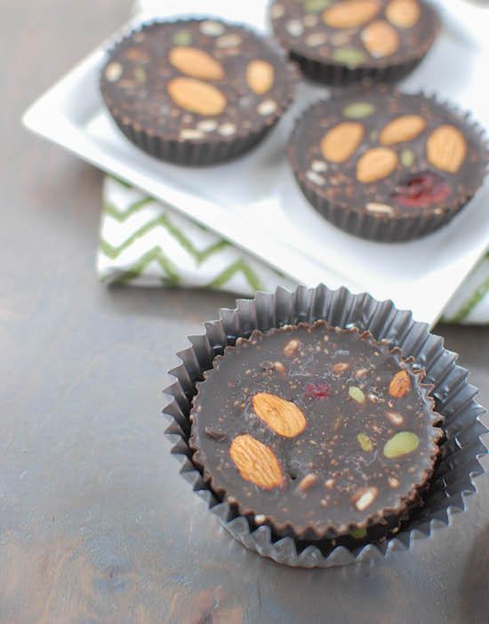 Always have a stash of these Chocolate Peanut Butter Cups in your freezer. Made with coconut oil and cocoa, they're dairy free and easy to customize!