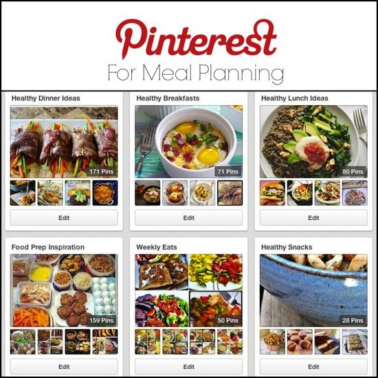 Want to start meal planning but not sure where to start? Pinterest can be a great resource! Find out how a Registered Dietitian uses it!