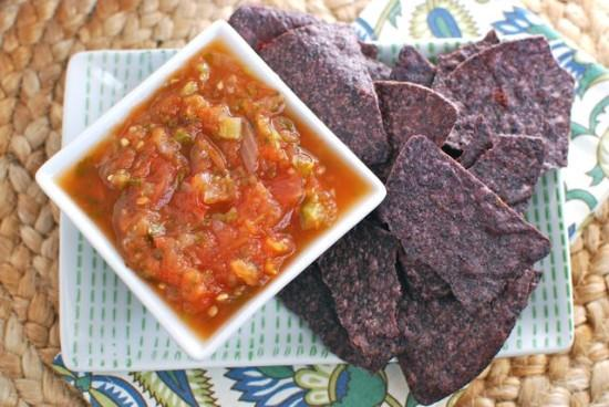 Put those summer tomatoes to good use and make some Garden Fresh Salsa! Bonus points if you're into canning and make extra to eat year-round!