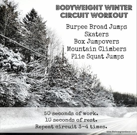 bodyweight winter circuit workout 1