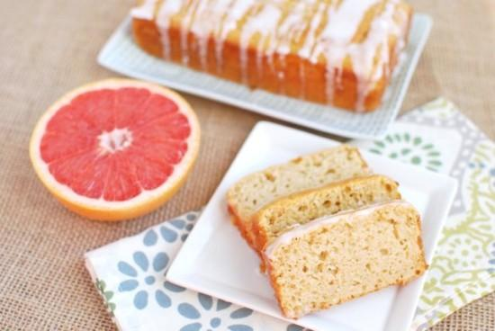 Is citrus in season? Make this light and refreshing Grapefruit Yogurt Cake to snack on at brunch or dessert!