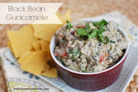 Add some extra protein and fiber to your guacamole thanks to the addition of Greek yogurt and black beans! Serve it as an appetizer and your guests won't know the difference!
