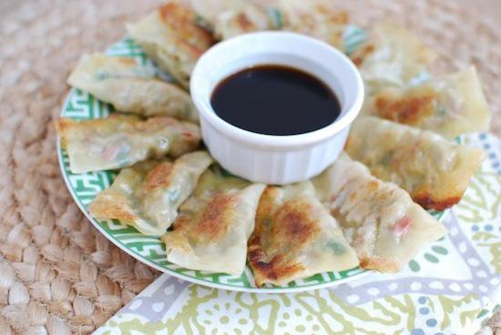 These homemade Potstickers are healthier than your favorite Asian takeout!
