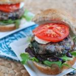 Wild Blueberry Turkey Burgers