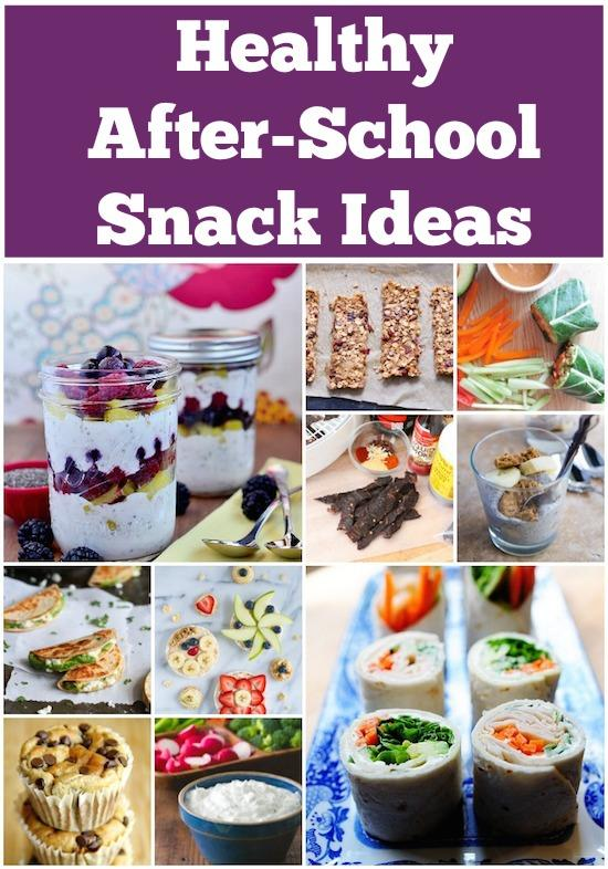 Need some healthy snack ideas to feed your kids after school? Here are some easy, nutritious ideas.