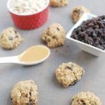 Freezer Oatmeal Raisin Cookies