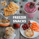 Healthy Freezer Snacks that can be prepped ahead of time