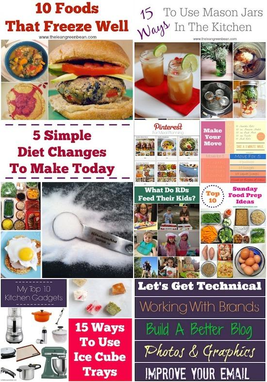 Looking for new recipes to try? Here is a year's worth of healthy, nutritious breakfast, lunch, dinner, dessert and snack ideas from a Registered Dietitian.