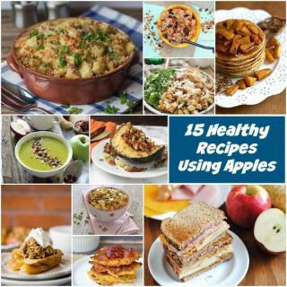 15 Healthy Recipes Using Apples