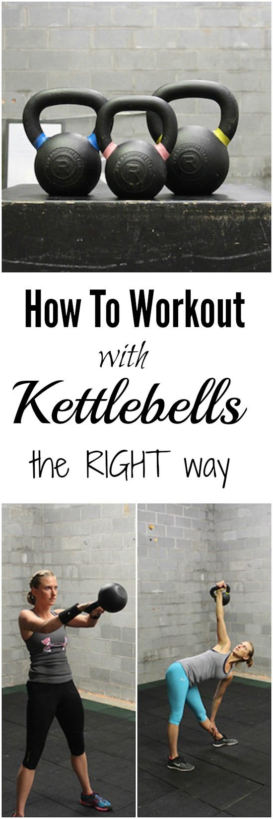Want to learn how to workout with kettlebells? Make sure you do it right! Click here to learn the fundamentals!