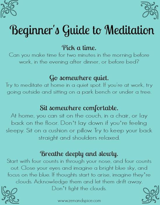 This simple guide to Beginner Meditation will help you add mindfulness to your daily routine.