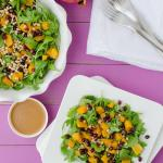Butternut and Arugula Salad