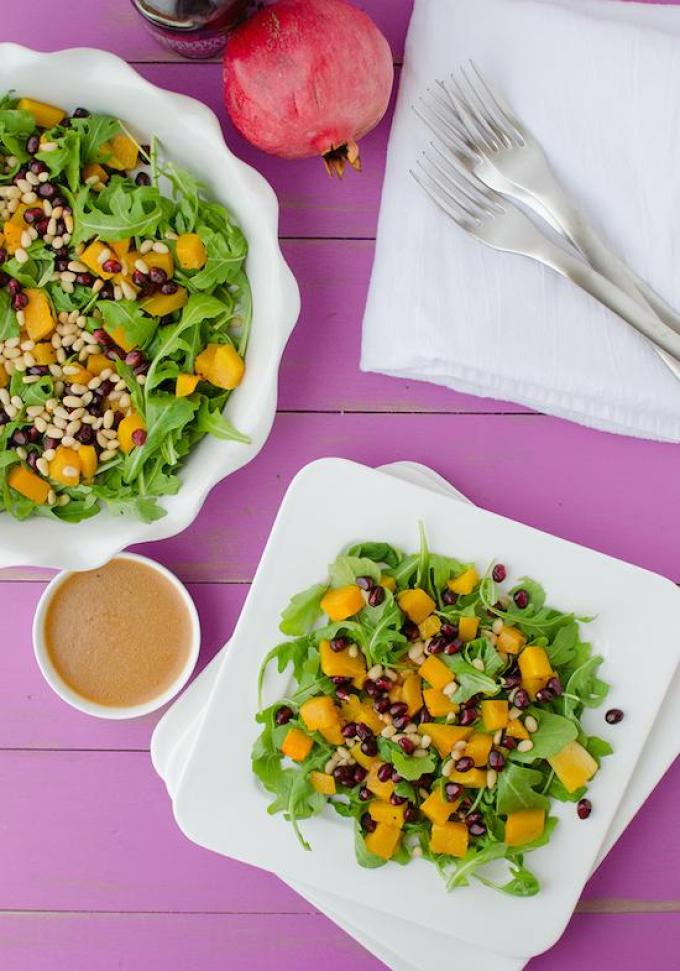 This Butternut Squash Salad is full of flavor and is also an easy way to increase your daily fiber intake thanks to the vegetables and beans.