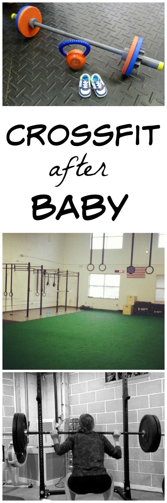Advice for getting back into Crossfit after having a baby.