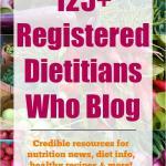 Registered Dietitians Who Blog