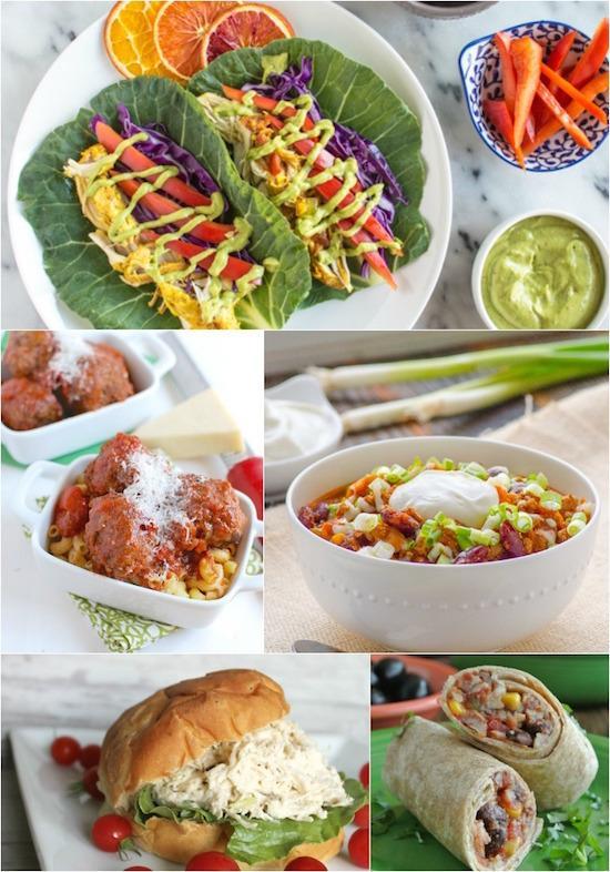 Crockpot Lunch Ideas