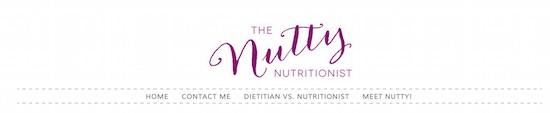 nutty nutritionist