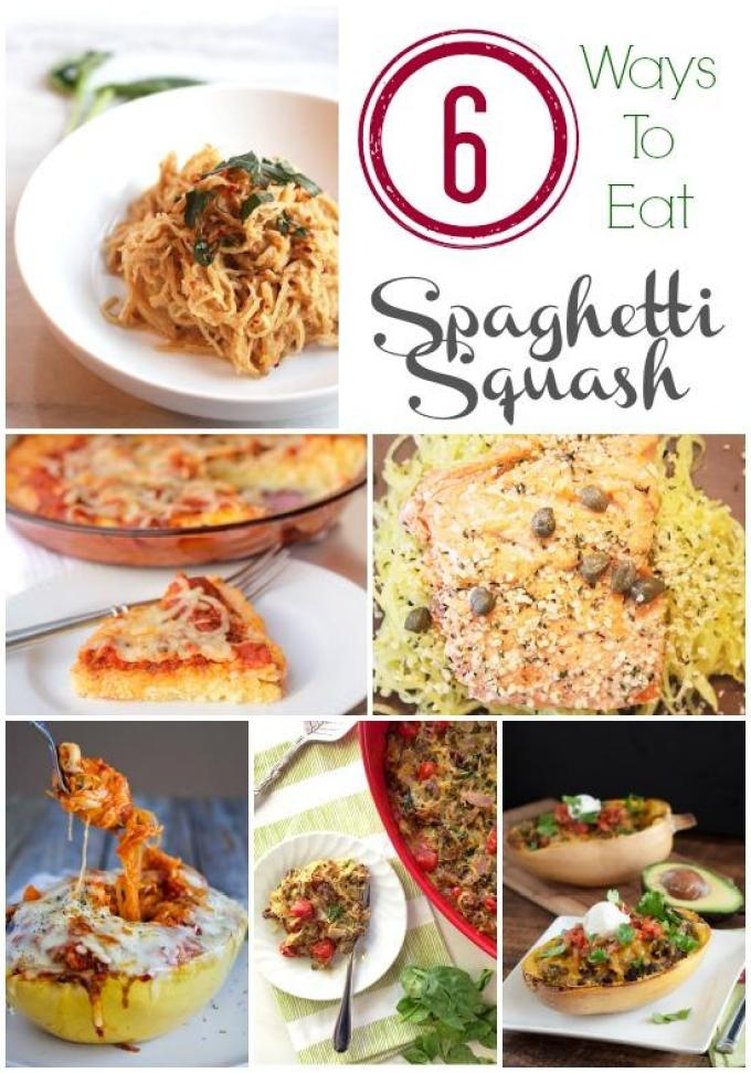Learn how to cook spaghetti squash and then try one of these six delicious recipes!