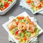 Shrimp and Edamame Succotash
