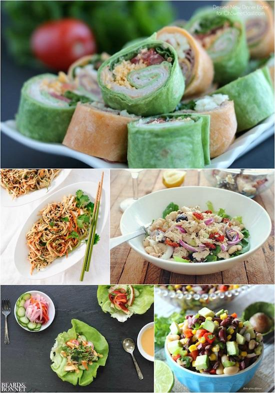 No-Cook Lunch Ideas