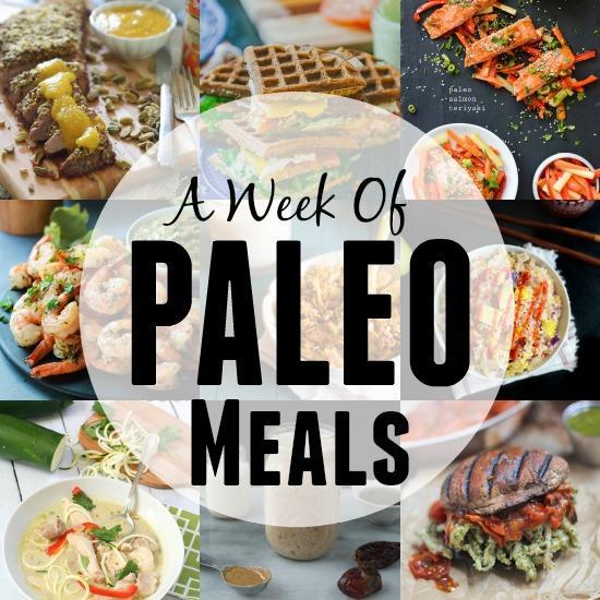 A Week of Paleo Meals