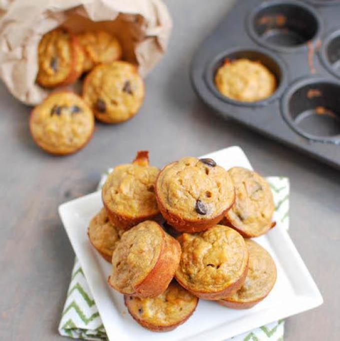 Toddler Snack Ideas- They'll love these 4 ingredient sweet potato bites!