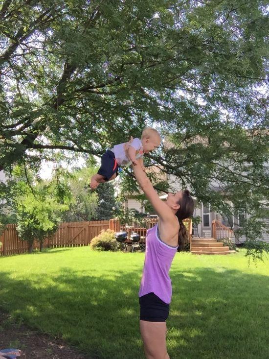 Baby Flying
