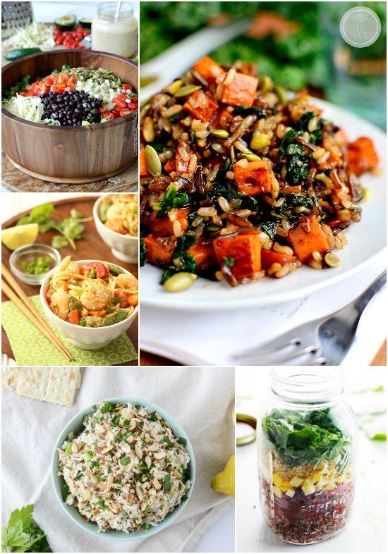 Lunch ideas with nuts and seeds