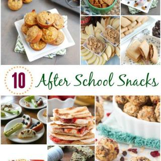 10 Healthy After School Snacks For Kids
