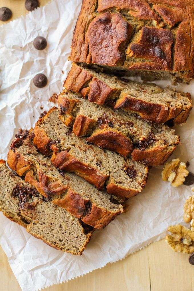 Grain-Free Chocolate Chip Banana Bread
