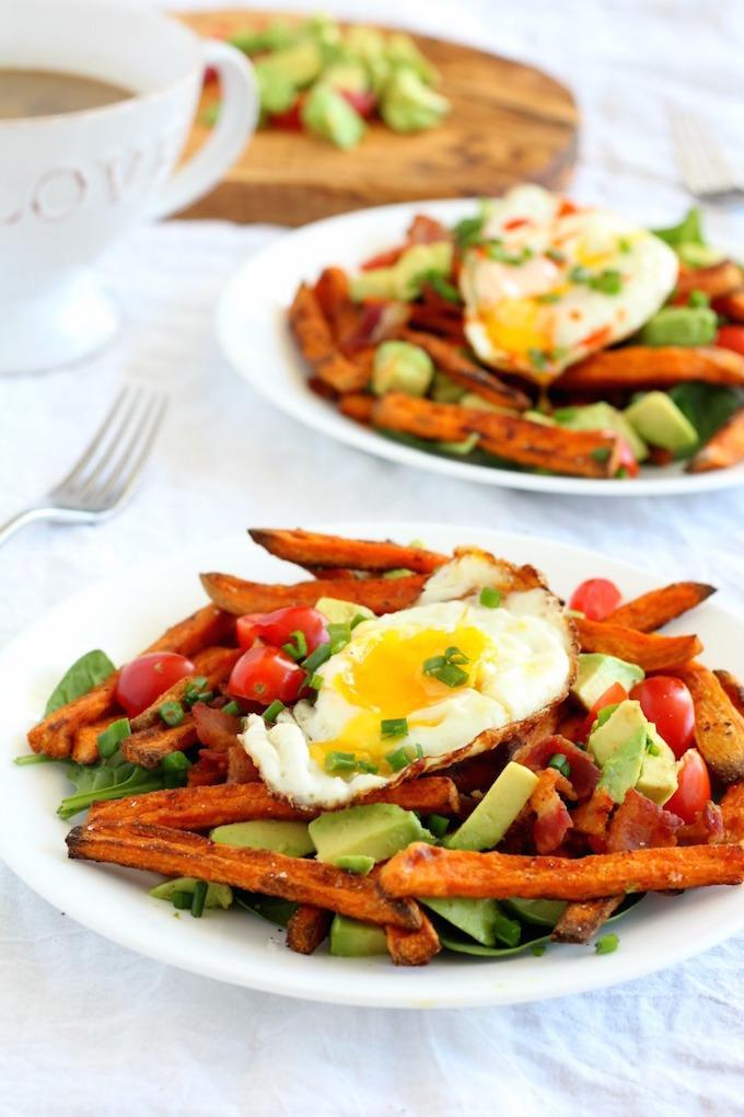loaded-breakfast-sweet-potato-fries