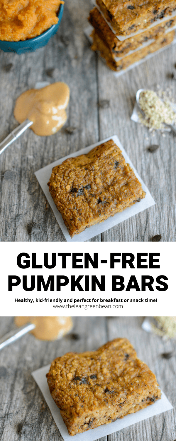This recipe for Gluten-Free Pumpkin Yogurt Bars makes a quick, healthy breakfast or snack. They're kid-friendly and you can customize with your favorite mix-ins!.