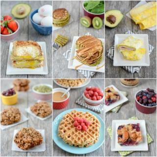 Easy, healthy breakfast recipes from a Registered Dietitian
