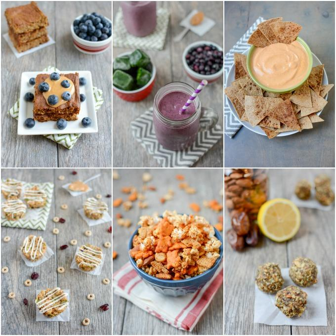 Easy, healthy snack recipes from a Registered Dietitian