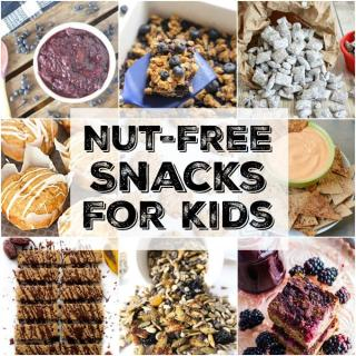 These healthy, Nut-Free Snacks For Kids will be loved by all and are perfect for taking to schools and play groups where there are nut allergies.