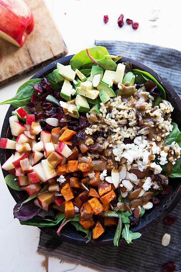 Sweet Potato & Wild Rice Salad
