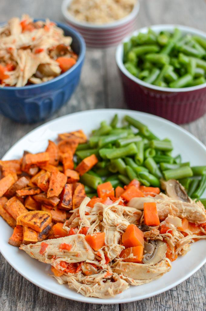 This Instant Pot Asian Chicken can also be made in a slow cooker. It's full of flavor and easy to make. A healthy dinner the whole family will love!