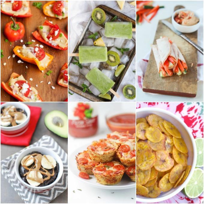 Gluten-Free Veggie Snacks