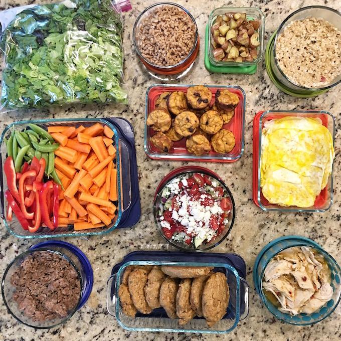 1 hour of food prep