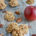 Gluten-Free Apple Pecan Snack Cookies
