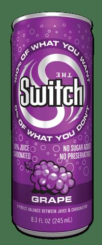 switch sparkling juice