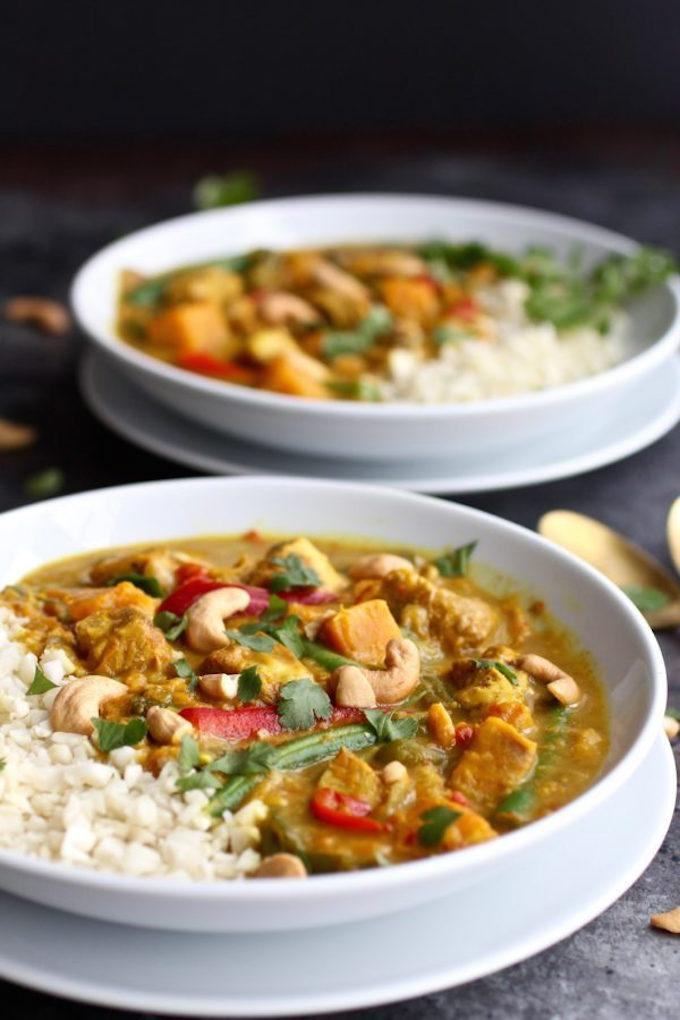 Instant Pot Sweet Potato Chicken Curry