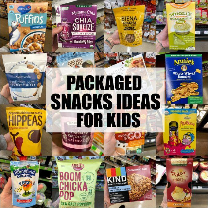 60 Healthy Packaged Snacks For Kids For School Or Home