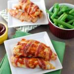 Sweet and Spicy Bacon Wrapped Chicken 1